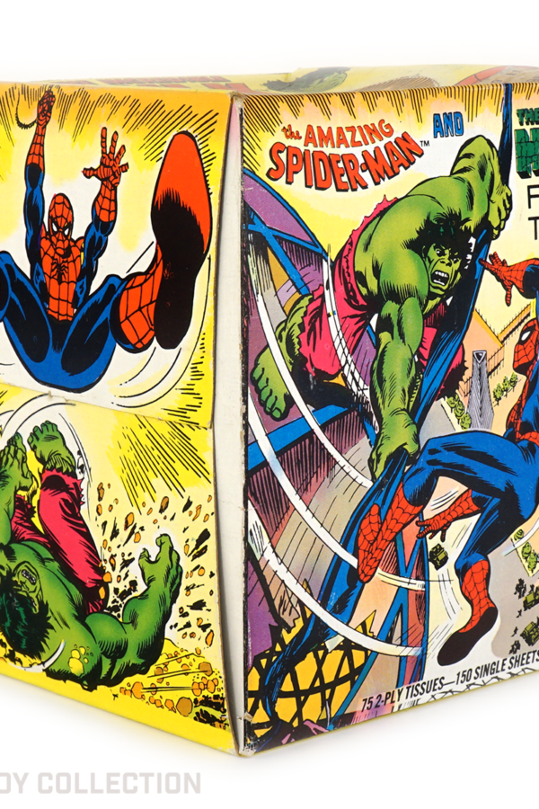 Spider-Man & Hulk Facial Tissues, 1979