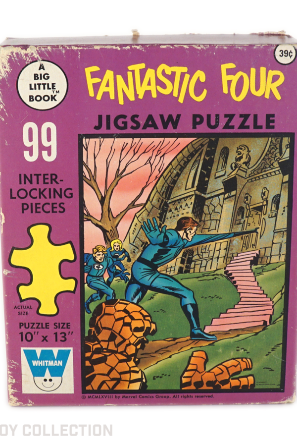 Fantastic Four Jigsaw Puzzle by Whitman, 1968
