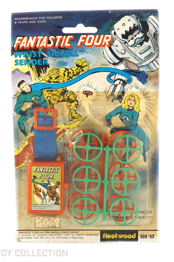 Fantastic Four Wrist Signal Sender by Fleetwood, 1980