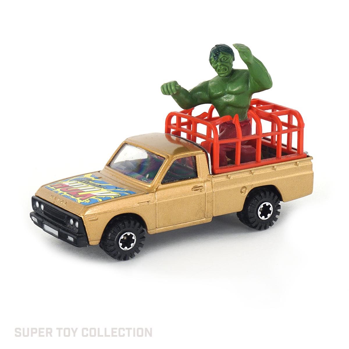 hulk corgi pickup truck
