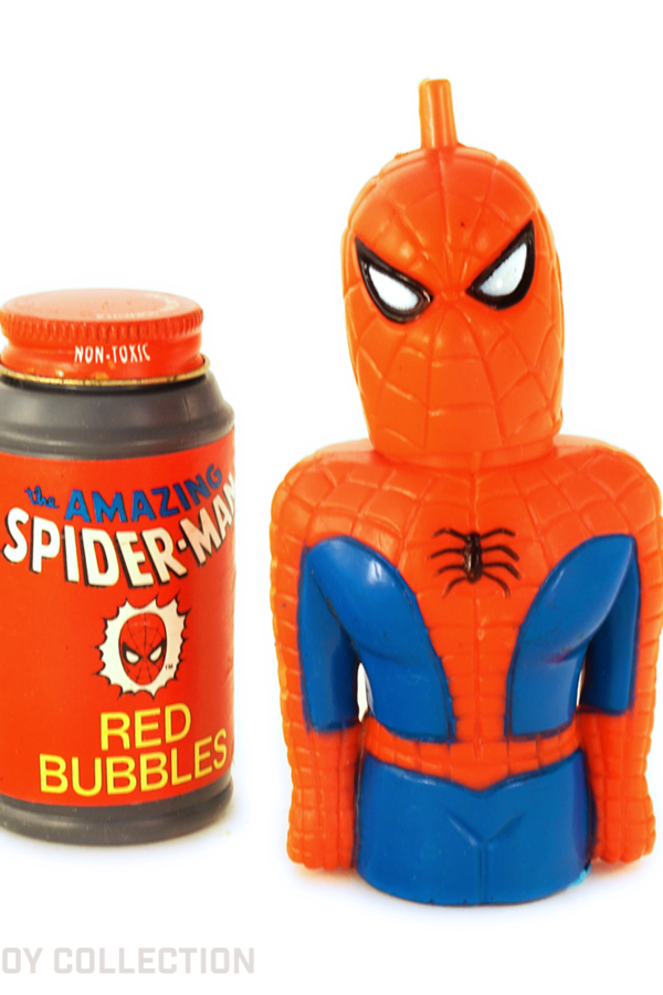 Spider-Man Bubble Machine by Larami, 1979