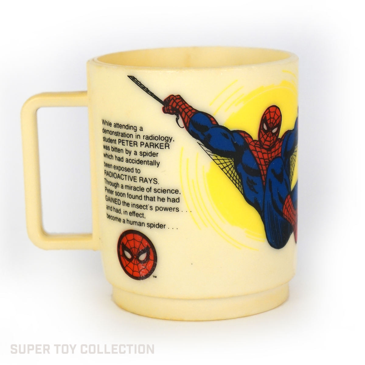 Spiderman cup