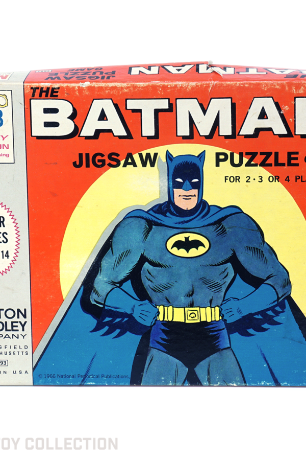 Batman Jigsaw Puzzle Game by Milton Bradley, 1966