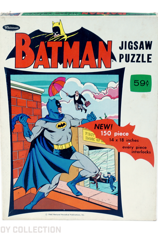 Batman Jigsaw Puzzle by Whitman, 1966