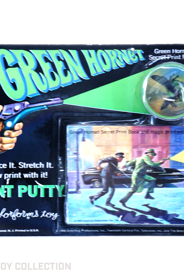 Green Hornet Print Putty by Colorforms, 1966