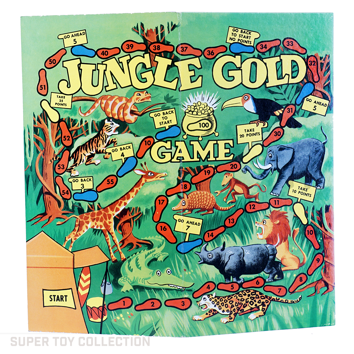 phantom jungle gold board game
