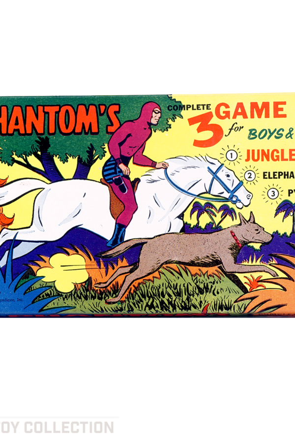 The Phantom's 3 Game Set for Boys & Girls by Built Rite, 1956